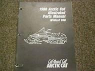 1988 Arctic Cat Wildcat 650 Illustrated Service Parts Catalog Manual FACTORY OEM