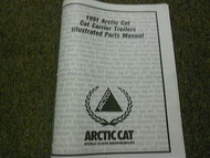 1991 Arctic Cat Cat Carrier Trailers Illustrated Service Parts Catalog Manual