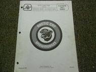 1976 Arctic Cat Cheetah Illustrated Service Parts Catalog Manual FACTORY OEM