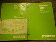 1980 Mazda 626 Service Repair Shop Manual SET FACTORY OEM BOOKS 80