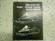 1990 Arctic Cat Cougar Cheetah Touring Service Repair Shop Manual FACTORY OEM