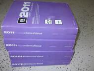 2012 GMC TERRAIN & CHEVY EQUINOX Service Shop Repair Manual Set OEM NEW FACTORY