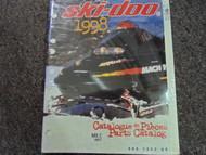 1998 Ski Doo MX Z 400 F Parts Accessories Catalog Service Manual OEM 98