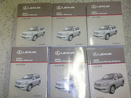 2009 Lexus LX570 LX 570 Service Shop Repair Manual SET FACTORY DEALERSHIP W EWD
