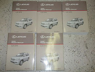 2009 Lexus LX570 LX 570 Service Shop Repair Manual SET FACTORY DEALERSHIP HUGE