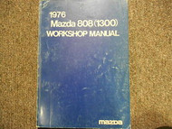 1976 Mazda 808 1600 Service Repair Shop Manual FACTORY OEM BOOK 76