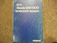 1976 Mazda 808 1600 Service Repair Shop Manual FACTORY OEM BOOK 76
