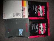 1995 TOYOTA SUPRA Service Repair Shop Manual Set OEM FACTORY DEALERSHIP HUGE