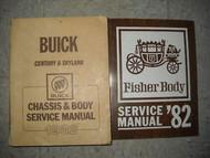 1982 BUICK SKYLARK Shop Repair Service Manual SET OEM W Fisher Body Book