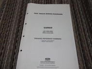 1992 Ford CARGO Wiring Diagrams Service Shop Manual