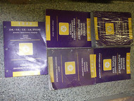 1996 PLYMOUTH VOYAGER MINI VAN Service Shop Repair Manual SET FACTORY VAN