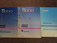 1986 1987 1989 Saab 9000 Service Repair Shop Manual HUGE SET FACTORY OEM BOOKS