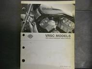 2004 Harley Davidson VRSC Parts Catalog Manual FACTORY OEM BOOK 04
