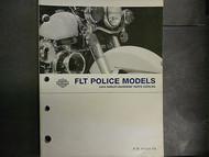 2004 Harley Davidson FLT Police Models Parts Catalog Manual FACTORY OEM BOOK 04