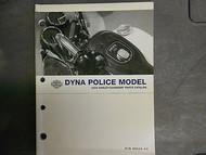 2004 Harley Davidson Dyna Police Models Parts Catalog Manual FACTORY OEM 04