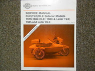 1979 1980 1981 1982 1983 1984 Harley Davidson CLE Service Repair Shop Manual