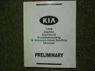 1998 1999 KIA Sephia Preliminary Electrical Troubleshooting Service Manual OEM