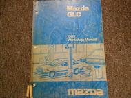 1985 Mazda GLC Service Repair Shop Manual FACTORY OEM BOOK 85