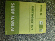 1982 Chevy Chevrolet LUV TRUCK L U V Service Shop Manual Series 12 OEM BOOK