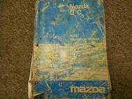 1978 Mazda GLC Service Repair Shop Manual FACTORY DEALERSHIP OEM BOOK 78