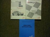 1993 Isuzu Stylus Service Repair Manual Shop Set FACTORY OEM 93