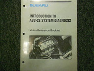 1992 Subaru ABS 2E Introduction Service Repair Shop Manual FACTORY OEM BOOK 92