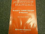 1974 Subaru 1400 5 Speed Service Repair Shop Manual FACTORY OEM BOOK 74
