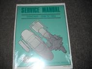 1990 1991 1992 1993 HARLEY DAVIDSON SIDECARS SIDECAR Service Shop Manual NEW OEM