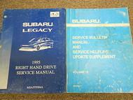 1995 Subaru Legacy Service Repair Shop Manual SET FACTORY OEM BOOKS 95