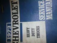 1973 CHEVY HEAVY DUTY TRUCK 7000 9000 Service Shop Repair Manual FACTORY 73