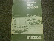 1983 Mazda GLC Wagon Service Repair Shop Manual FACTORY OEM BOOK RARE 83