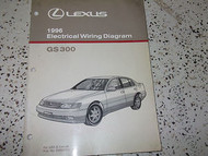 1996 LEXUS GS300 GS 300 Electrical Wiring Diagram Service Shop Repair Manual EWD