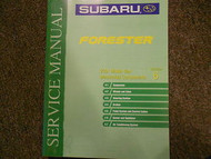 2001 Subaru Forester Mechanical Components Section 6 Service Repair Shop Manual
