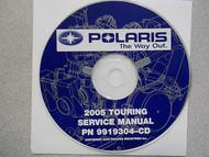2005 POLARIS TOURING Service Repair Shop Manual CD FACTORY OEM HOW TO FIX 05