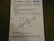 1992 93 94 95 1996 Mazda 929 Service Bulletins Service Repair Shop Manual OEM