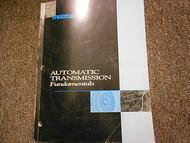 1997 Mazda Automatic Transmission Service Repair Shop Manual OEM BOOK