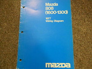 1977 Mazda 808 Electrical Wiring Diagram Service Repair Shop Manual BOOK 77