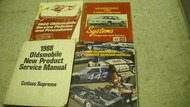 1988 Oldsmobile Cutlass Supreme Service Manual Set 88