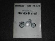 1988 Yamaha VMX12 N S U Service Shop Repair Manual OEM FACTORY BOOK 81