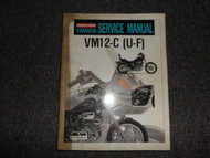 1993 Yamaha VM12-C (U-F) Service Supplement Manual OEM FACTORY STAINED