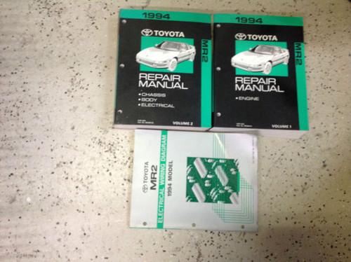 1994 Toyota Mr2 Mr 2 Service Repair Shop Workshop Manual