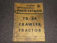 International Harvester TD 24 Crawler Parts Catalog