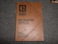 Caterpillar D10 Tractor Part Book 84W1 76X1