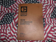 Caterpillar 183B Hydraulic Control Part Book 41V1 1980