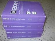 2011 Chevy Express & GMC Savana GH VAN Service Shop Repair Manual Set OEM 11