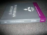 2010 Mitsubishi LANCER SPORTBACK SPORT BACK Electrical SUPP Service Shop Manual