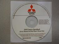 2010 MITSUBISHI LANCER SPORTBACK Service Repair Manual CD FACTORY OEM BARGAIN 10