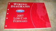 2007 Ford Low Cab Forward Wiring Diagrams Shop Manual