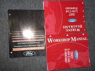 2007 Ford Low Cab Forward Service Shop Manual Set OEM W Wiring Diagram Book EWD