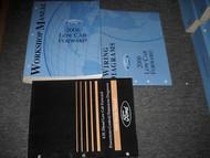 2006 Ford Low Cab Forward Service Shop Manual Set OEM